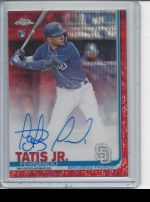 2019 Topps Chrome Fernando Tatis Jr