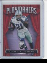 2019 Donruss Elite Ezekiel Elliott