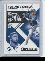 2019 Panini Chronicles Fernando Tatis Jr