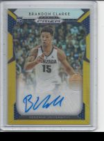 2019-20 Panini Prizm Draft Picks Brandon Clarke