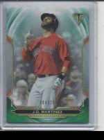 2019 Topps Triple Threads   JD Martinez<br />Card not available