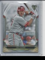 2019 Topps Triple Threads   Jim Thome<br />Card not available