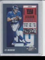 2018 Panini Contenders Optic   Eli Manning<br />Card not available