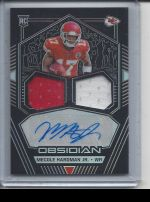 2019 Panini Obsidian   Mecole Hardman<br />Card not available