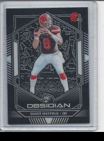2019 Panini Obsidian   Baker Mayfield<br />Card not available