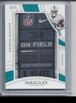 2019 Panini Immaculate   DeVante Parker<br />Card not available