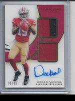 2019 Panini Immaculate   Deebo Samuel<br />Card not available