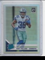 2019 Donruss Optic Tony Pollard