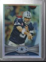 2012 Topps Chrome Tony Romo