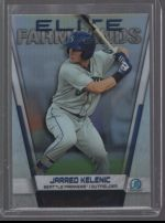 2019 Bowman Chrome Legends Material Printing Plate Magenta Jarred Kelenic<br />Card not available