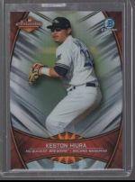 2019 Bowman Chrome Legends Material Printing Plate Magenta Keston Hiura<br />Card not available