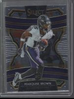 2019 Panini Select Marquise Brown