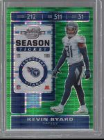 2019 Panini Contenders Optic Kevin Byard