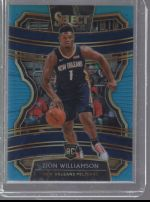 2019-20 Panini Select Zion Williamson
