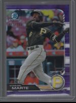 2019 Bowman Chrome Legends Material Printing Plate Magenta Starling Marte<br />Card not available