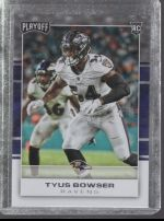 2017 Panini Playoff Tyus Bowser