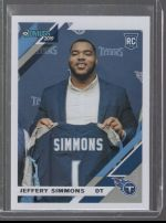 2019 Donruss Jeffery Simmons