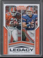 2020 Panini Contenders Draft Picks Tim Tebow, Emmitt Smith
