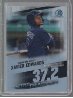2020 Bowman Chrome Xavier Edwards