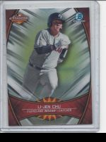 2019 Bowman Chrome Legends Material Printing Plate Magenta Li-Jen Chu<br />Card not available