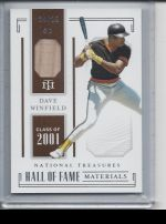 2019 Panini National Treasures Dave Winfield