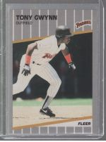 1989 Fleer Tony Gwynn
