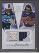 2008 SP Rookie Threads Chris Johnson, Ray Rice