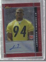 2007 Topps Finest Lawrence Timmons
