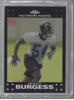 2007 Topps Chrome Prescott Burgess