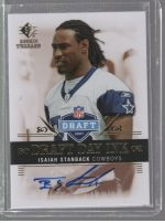 2007 SP Rookie Threads Isaiah Stanback