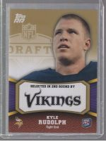 2011 Topps Rising Rookies Kyle Rudolph