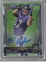 2015 Topps Chrome Maxx Williams