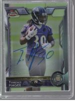 2015 Topps Chrome Terrence Magee