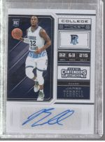 2018-19 Panini Contenders Draft Picks Jared Terrell