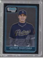 2006 Bowman Chrome Javier Martinez