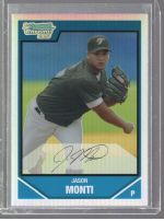 2007 Bowman Chrome Jason Monti