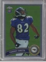 2011 Topps Chrome Torrey Smith