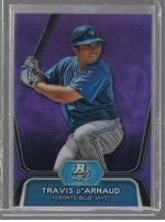 2012 Bowman Platinum Travis DArnaud