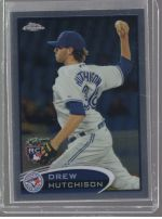 2012 Topps Chrome Drew Hutchison