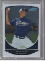 2013 Bowman Chrome Zach Eflin