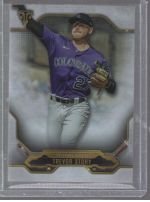 2020 Topps Triple Threads Legends Material Printing Plate Magenta Trevor Story<br />Card Owner: Aaron LaCasse
