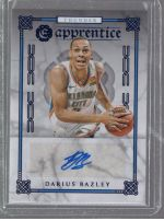 2019-20 Panini Chronicles Legends Material Printing Plate Magenta Darius Bazley<br />Card Owner: Aaron LaCasse