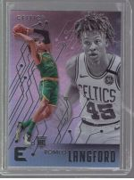 2019-20 Panini Chronicles Legends Material Printing Plate Magenta Romeo Langford<br />Card Owner: Jacob Teasley