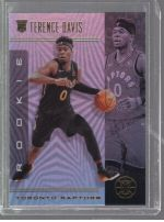 2019-20 Panini Illusions Legends Material Printing Plate Magenta Terence Davis<br />Card not available