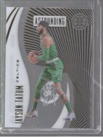 2019-20 Panini Illusions Legends Material Printing Plate Magenta Jayson Tatum<br />Card Owner: Jacob Teasley