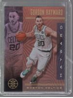 2019-20 Panini Illusions Legends Material Printing Plate Magenta Gordon Hayward<br />Card Owner: Jacob Teasley