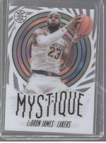 2019-20 Panini Illusions Legends Material Printing Plate Magenta LeBron James<br />Card not available