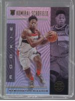 2019-20 Panini Illusions Legends Material Printing Plate Magenta Admiral Schofield<br />Card not available