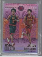 2019-20 Panini Illusions Legends Material Printing Plate Magenta Collin Sexton, Darius Garland<br />Card not available