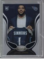 2019 Panini Certified Jeffery Simmons